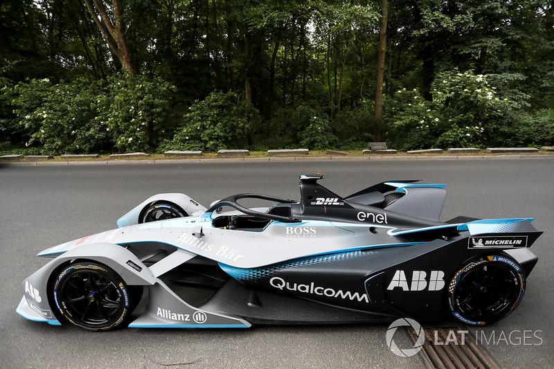 El coche de Fórmula E Gen2