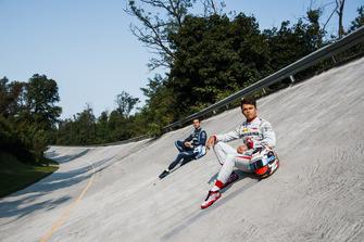 Nicholas Latifi, DAMS, Nyck De Vries, PREMA Racing