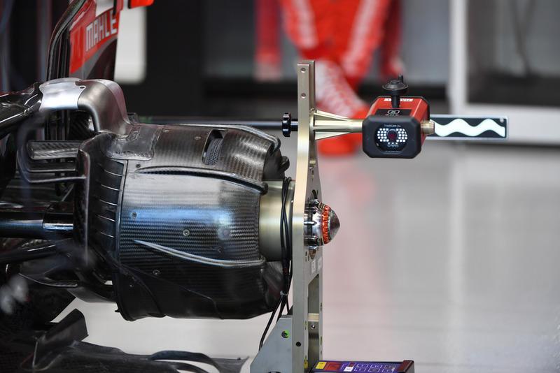 Ступиця колеса Ferrari SF71H