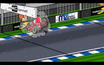 El accidente de Vettel en Alemania, según MiniDrivers