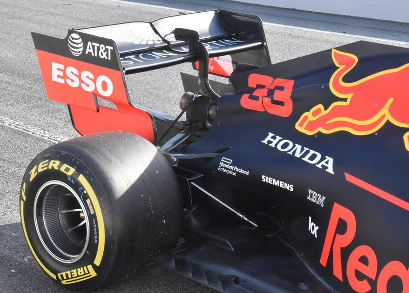 Red Bull Racing RB15 rear detail
