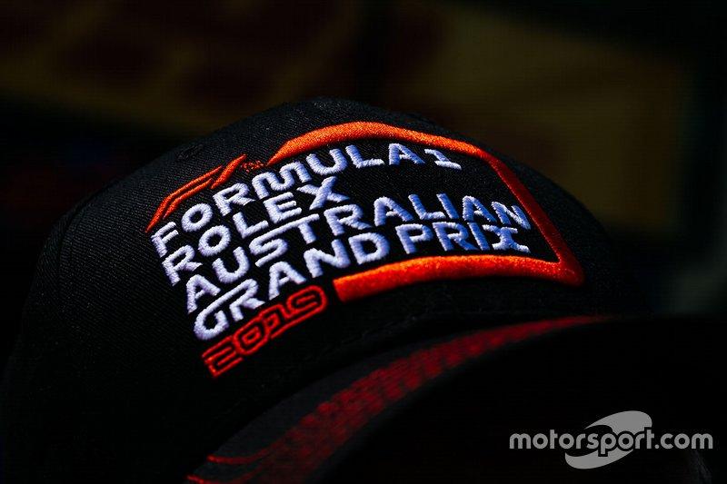 Formula 1 Australian Grand Prix cap