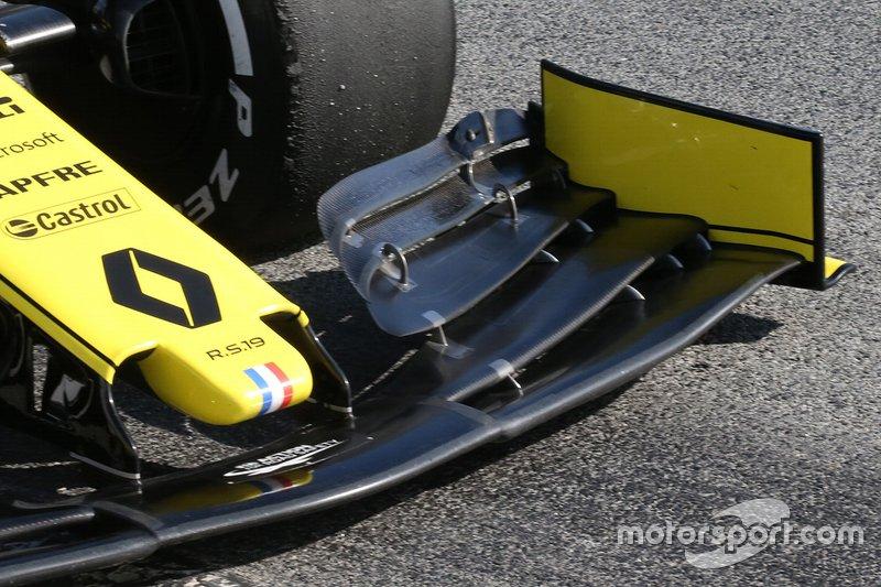 Renault F1 Team burun detay