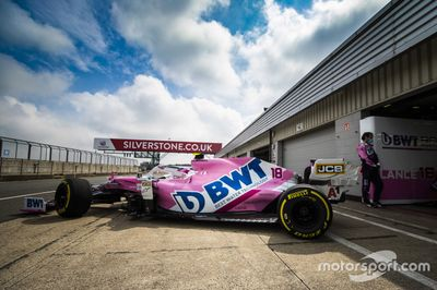 Essais Racing Point à Silverstone