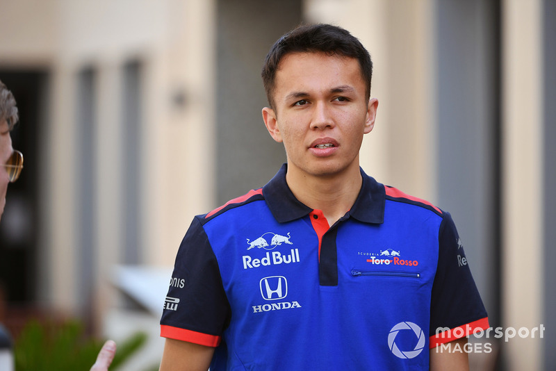 #23 Alexander Albon, Scuderia Toro Rosso (Llega de Fórmula 2)