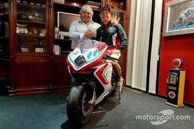 Aegerter - MV Agusta Forward Racing Announcement