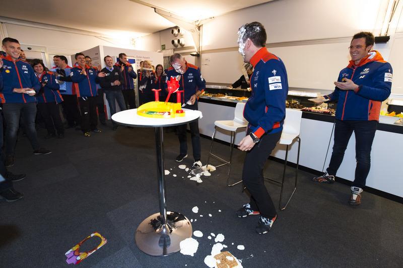 Thierry Neuville, Hayden Paddon, John Kennard, Nicolas Gilsoul, Hyundai Motorsport