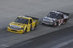 Cody Coughlin, ThorSport Racing Toyota, Harrison Burton, Kyle Busch Motorsports Toyota