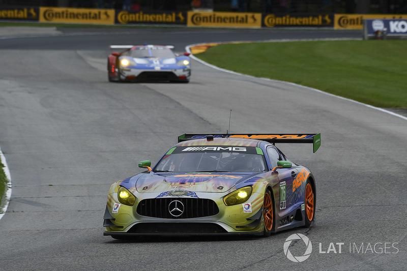 #75 SunEnergy1 Racing Mercedes AMG GT3: Трістан Вотьє, Кенні Хабул