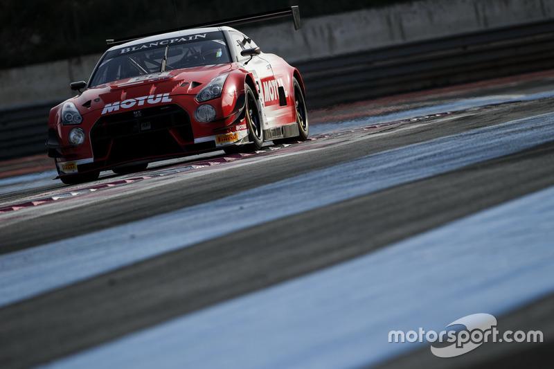 #22 Team RJN-Motorsport, Nissan GT-R Nismo GT3: Alex Buncombe, Matthew Simmons, Matthew Perry, Strua