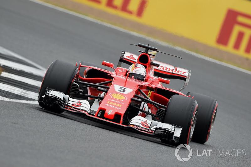 7. Sebastian Vettel, Ferrari SF70H