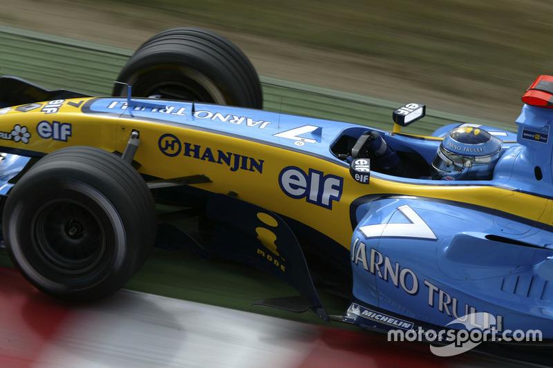 11: Jarno Trulli: 159 grandes premios (el 63,10% de los disputados)