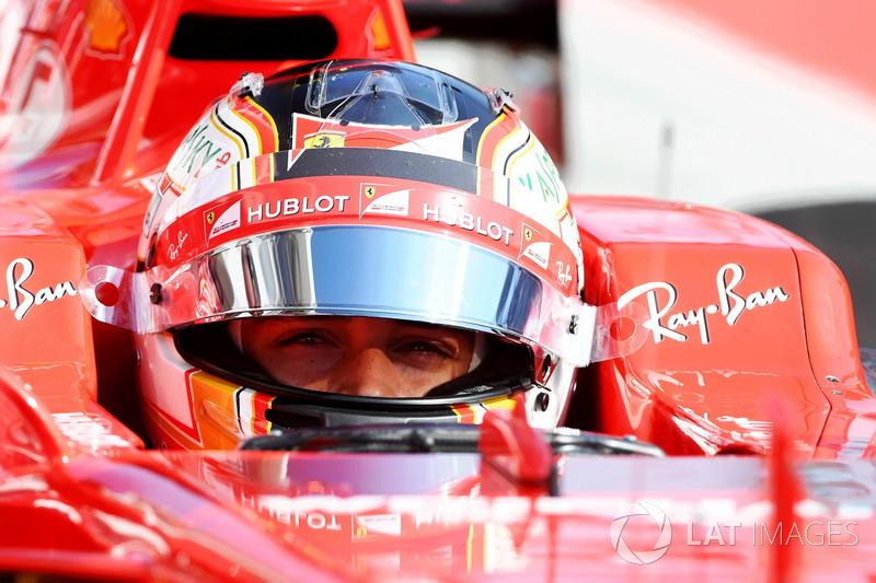 Charles Leclerc, Ferrari SF17-JB