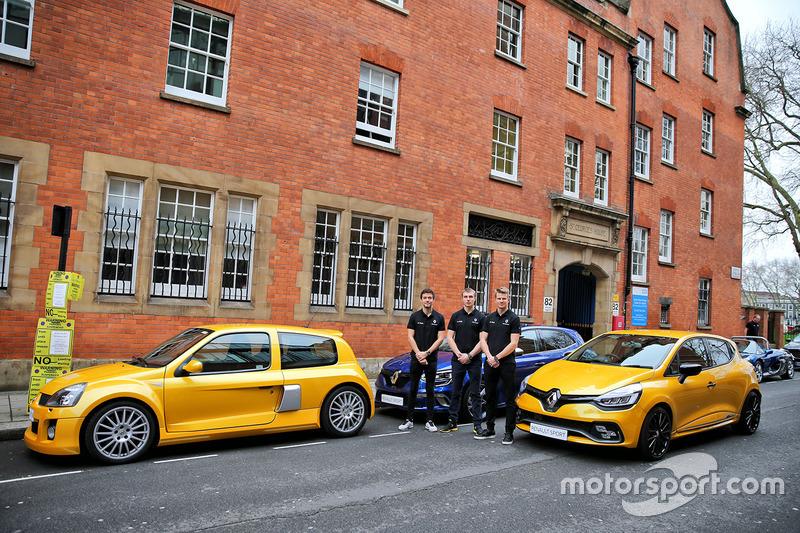 Jolyon Palmer, Sergey Sirotkin, Nico Hülkenberg, Renault Sport F1 Team