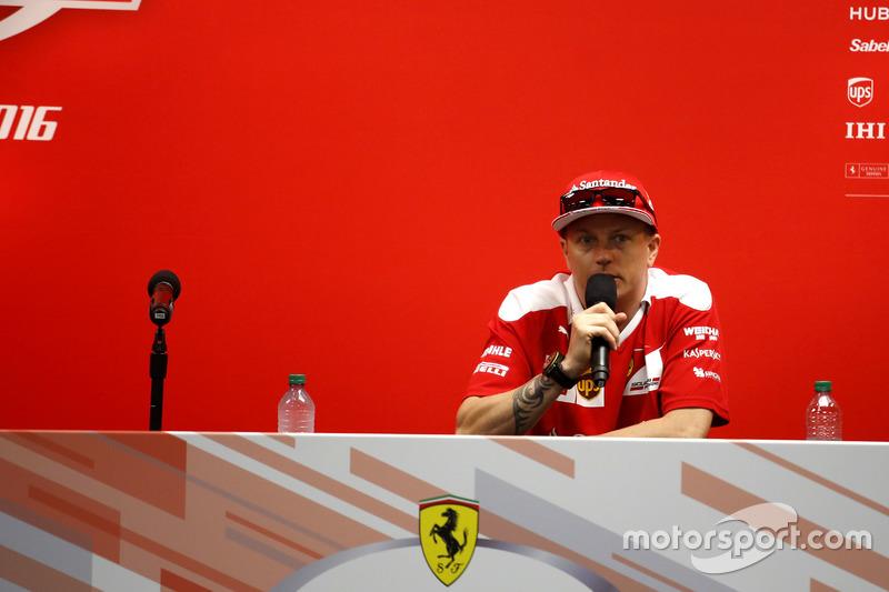 Conferencia: Kimi Raikkonen, Ferrari
