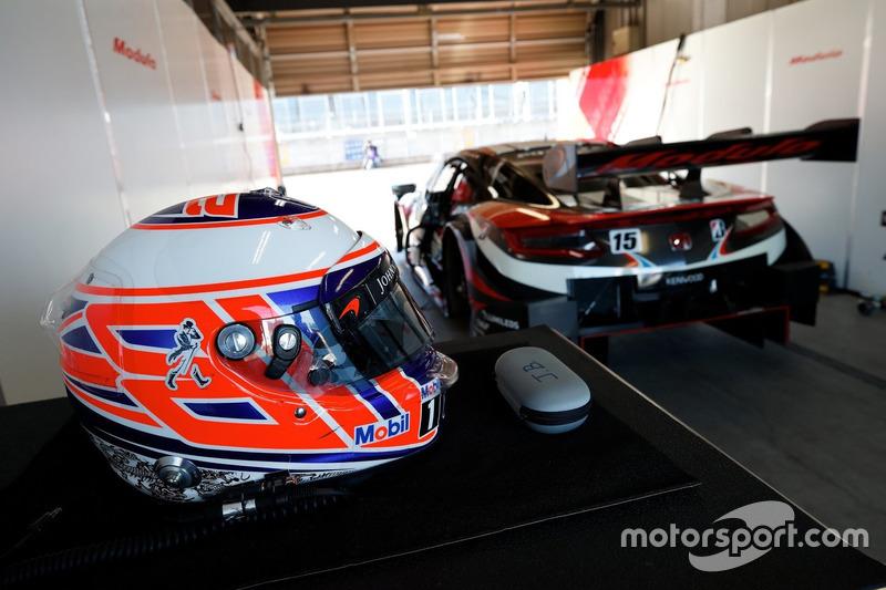 Helm von Jenson Button
