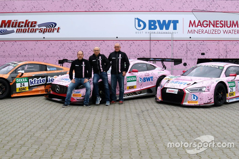 Michael Weiss, Peter Mücke, Matthias Kieper, Mücke Motorsport