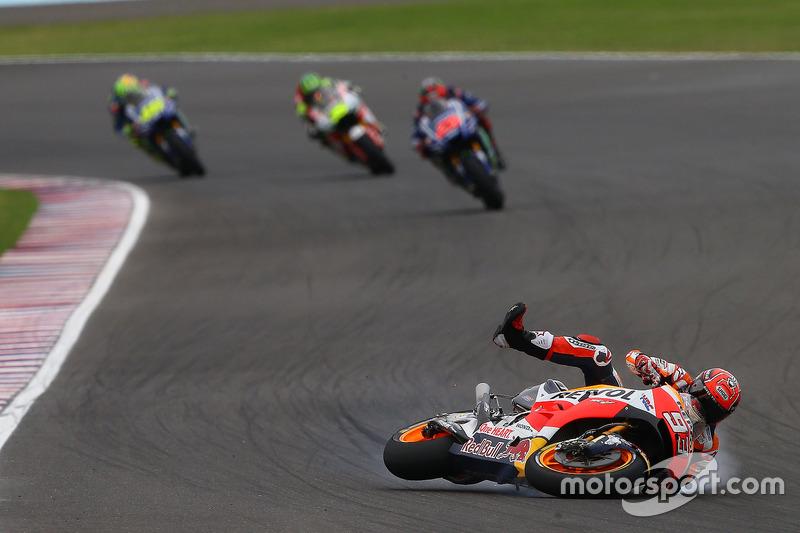 1. Vinales menang dan Marquez terjatuh di Argentina