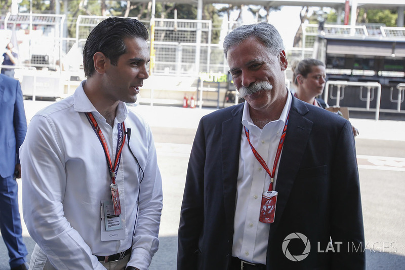 Chase Carey, CEO F1