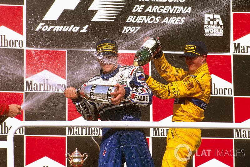 #8: Ralf Schumacher, GP de Argentina 1997
