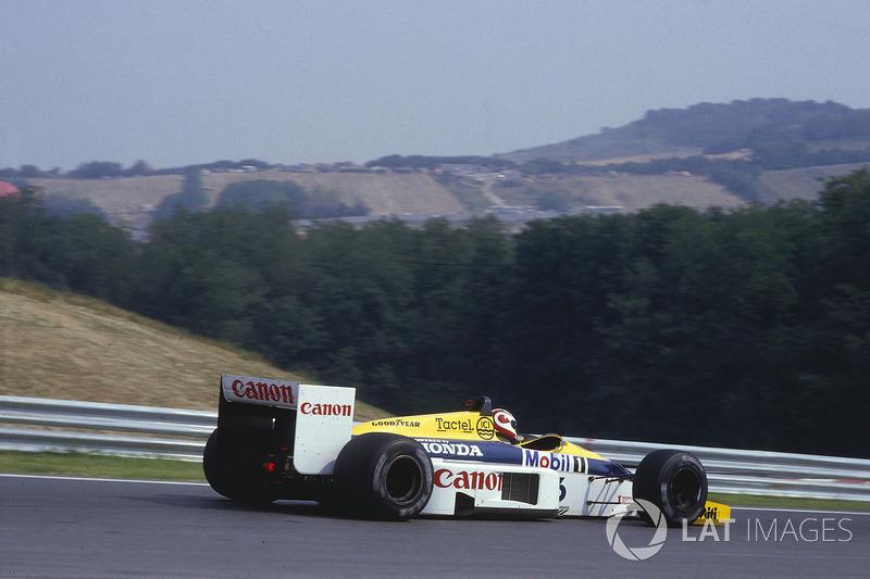 1986: Titelkandidaat met Williams