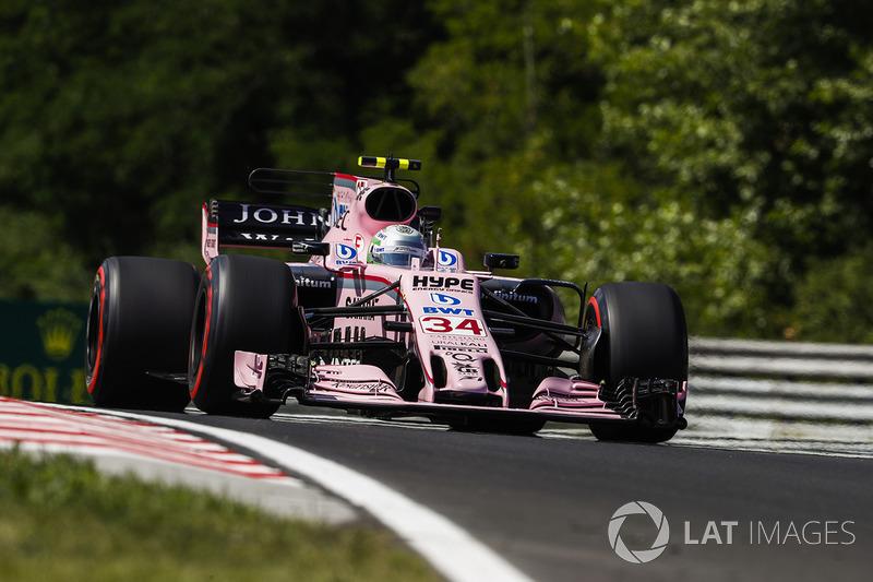 Альфонсо Селіс, Sahara Force India F1 VJM10