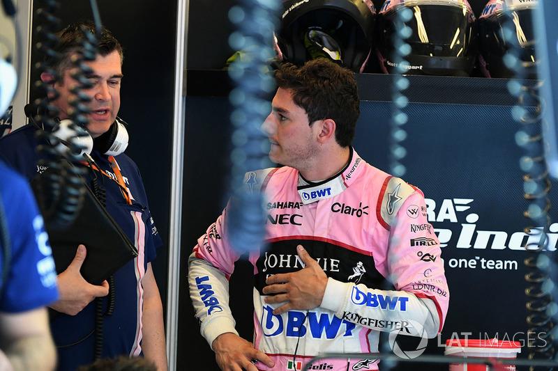 Alfonso Celis jr, Force India piloto de prueba