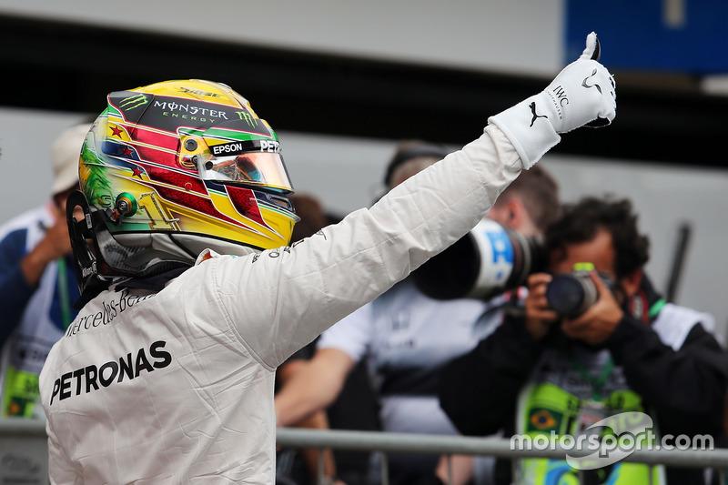 60e pole position pour Hamilton