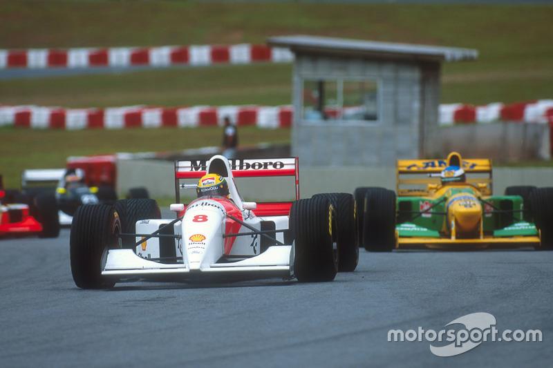 1993 Brezilya: McLaren MP4/8