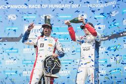 Podium: Race winner Mehdi Bennani, Sébastien Loeb Racing, Citroën C-Elysée WTCC, third place Tom Chilton, Sébastien Loeb Racing, Citroën C-Elysée WTCC