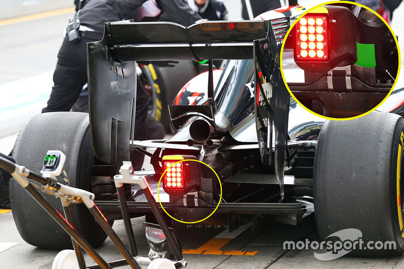 McLaren MP4-31im Detail