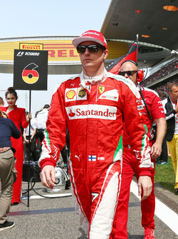 Kimi Raikkonen, Ferrari in griglia