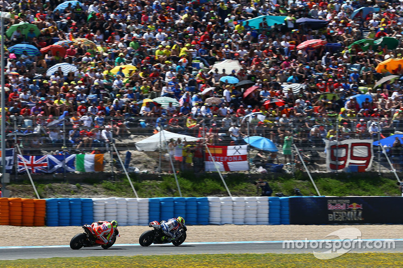 Hector Barbera, Avintia Racing and Andrea Iannone, Ducati Team