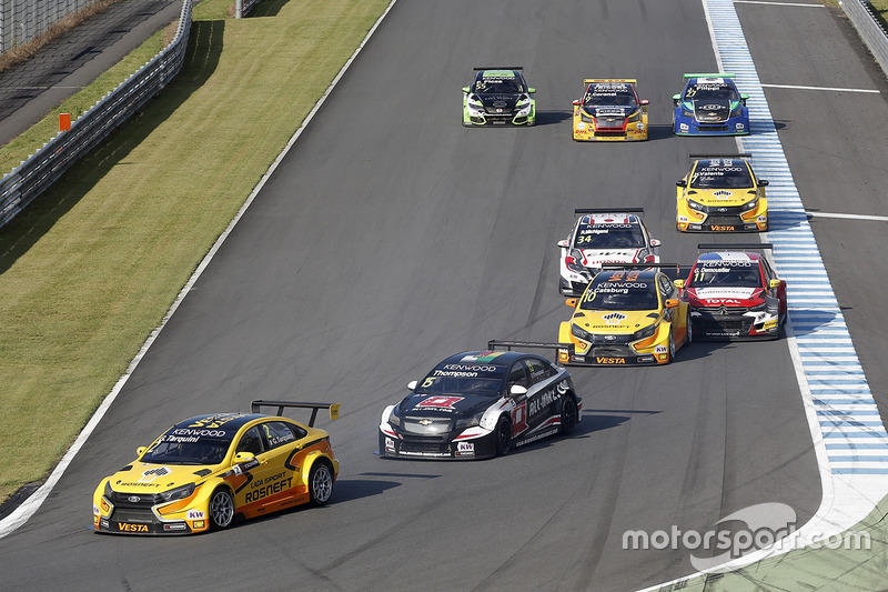 Gabriele Tarquini, LADA Sport Rosneft, Lada Vesta, James Thompson, All-Inkl Motorsport, Chevrolet RML Cruze TC1