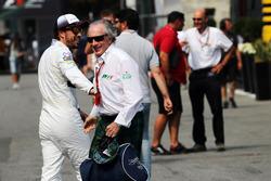 Fernando Alonso, McLaren con Jackie Stewart