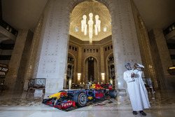 Red Bull Racing beim Show-Run in Oman
