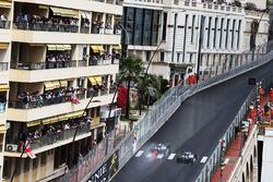 Lewis Hamilton, Mercedes AMG F1 W07 Hybrid passes team mate Nico Rosberg, Mercedes AMG F1 W07 Hybrid