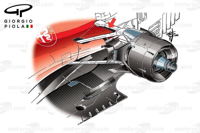 Ferrari SF16H гальмівна система, повітроводи, Гран Прі Канади