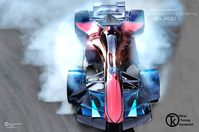 Onafhankelijk Alfa Romeo Formule 1-ontwerp