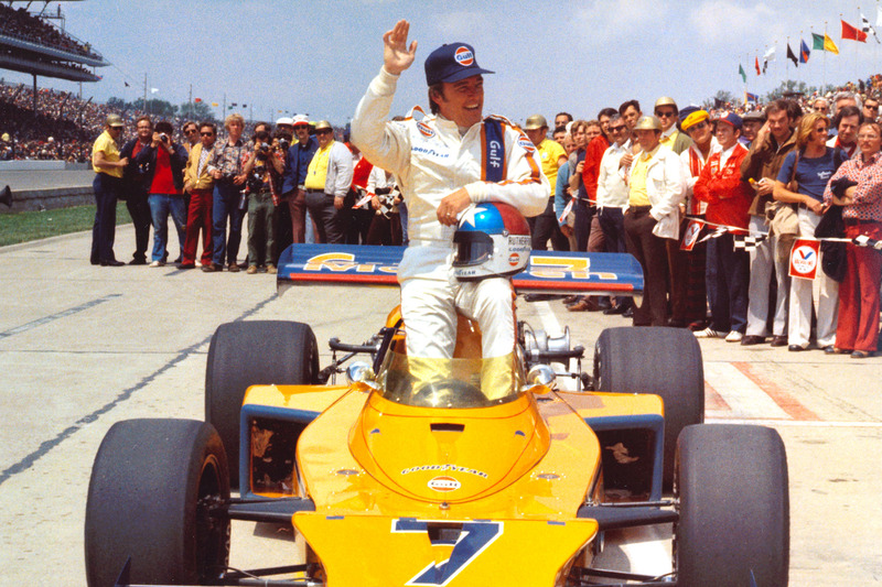 1974 - Johnny Rutherford, McLaren/Offy