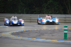 #27 SMP Racing BR01 Nissan: Nicolas Minassian, Maurizio Mediani, Mikhail Aleshin and #25 Algarve Pro Racing Ligier JSP2 Nissan: Michael Munemann, Chris Hoy, Parth Ghorpade