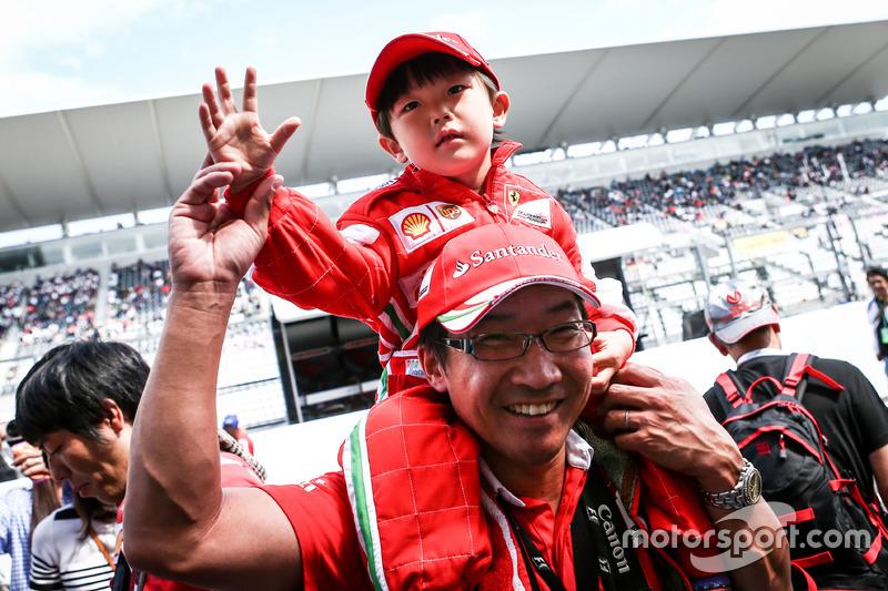 Fans von Ferrari