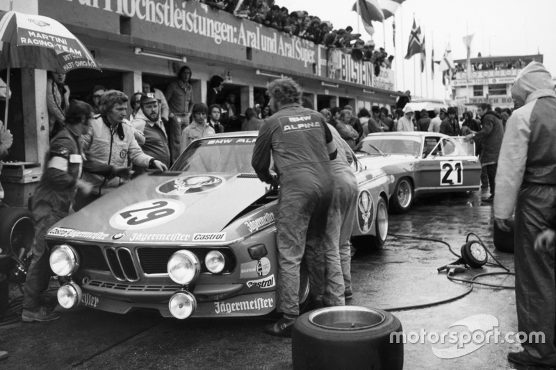 1973: Ники Лауда, Ханс-Петер Йойстен, Alpina BMW 3.0 CSL