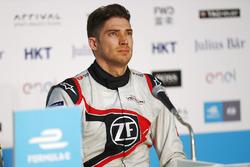 Edoardo Mortara, Venturi Formula E, in the press conference