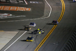 Jimmie Johnson, Hendrick Motorsports Chevrolet Camaro crashes
