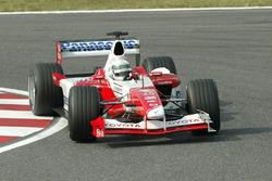 Allan McNish, Toyota TF102