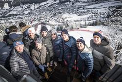 Bradley Smith, Sébastien Ogier, Dani Pedrosa, Pierre Gasly, Marc Marquez, Max Verstappen, Pol Espargaro, Brendon Hartley