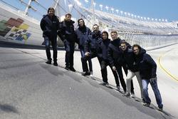 Phil Hanson, Lando Norris, Fernando Alonso, Will Owen, Hugo de Sadeleer, Bruno Senna, United Autosports