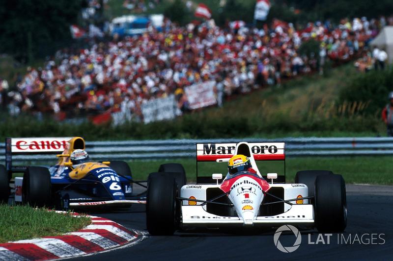 1991 Macaristan: McLaren MP4/6