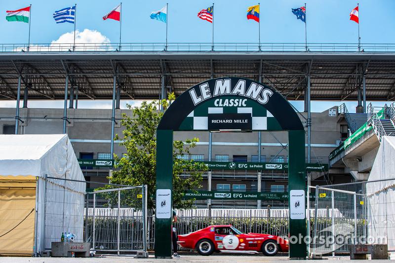Le Mans Classic entrance